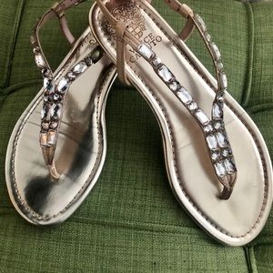 Vince Camuto Good Sparkle Thong Sandals